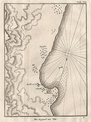 "Umgebungskarte, ""Die Gegend um Tor"".: Ägypten ( Egypt ): At-Tur/Sinai:"