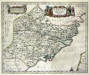 "Kst.- Karte, n. M. Martinio b. J. Blaeu, ""Fokien Imperii Sinarum Provincia Undecima."".: ..."