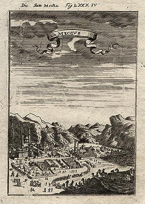 "Gesamtans., ""La Mecqve"".: Saudiarabien ( Arabia ): Mekka ( Al-Makka / Mecca ):"