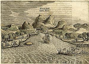 Hoornse Insel. Insula Horn.: Fidschi Inseln: