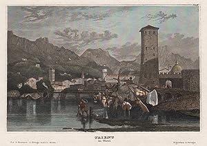 Gesamtans., i. Vgr. die Etsch.: Trient ( Trento ) / Trentino: