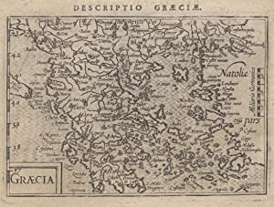 "Kupferstich- Karte, aus Langenes/ Bertius ""Caert Thresoor"" bei Nicolai in Amsterdam, ""..."