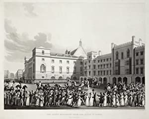 """Teilansicht, Westminsterhall, """"The Queen Returning from the House of Lords."""".: London:"""
