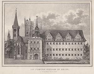 """TA., Piastenschloß, """"Das Piasten - Schloss in Brieg zur Zeit der Herzogin Dorothea Sybilla""""..."""