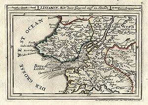 Kst.- Karte, v. Stridbeck d. J. b.: Lissabon ( Lisboa