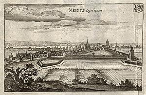 Gesamtans, gegen Orient.: Mainz: