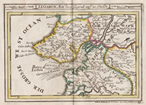 Kst.- Karte, v. und b. Gab. Bodenehr,: Lissabon ( Lisboa