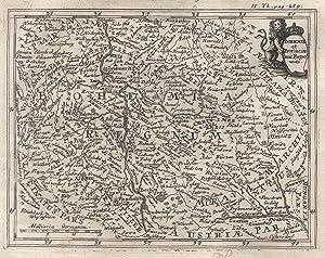 "Kst.- Karte, v. G.J. Haupt oder Th. Bäck, ""Bohemiae et Provinciae huic Regno unitae"".: ..."