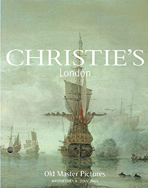 Christies July 2003 Old Master Pictures