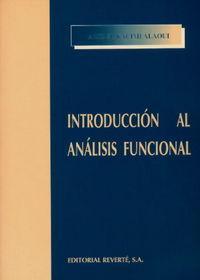 Introducción al análisis funcional: El Kacimi-Alaoui, Aziz