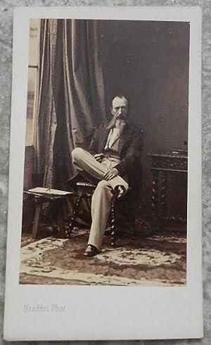 Carte de visite. Portrait de Horace Vernet,: Disdéri, photographe de