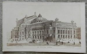 Carte de visite. Le nouvel opéra. Tiré: A. Villeneuve