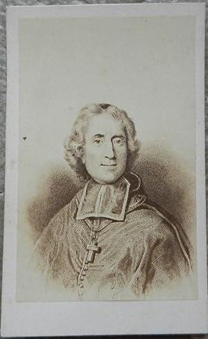 Carte de visite. Portrait de Fénelon d'après: H. Tournier