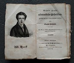 Sämmtliche Schriften, geordnet und mit einem Vorwort: HAUFF, Wilhelm