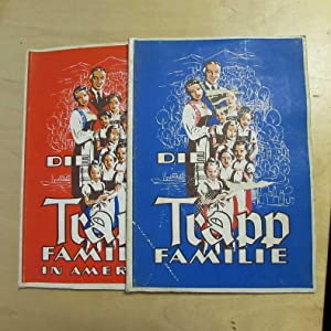 Die Trapp-Familie - Ein Bild-Album mit Fotos aus dem Gloria-Erfolgsfilm: Buck Eierteigwaren: