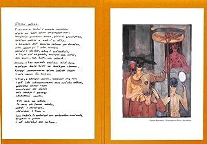 Grecki posag : wiersz.: Szymborska, Wislawa