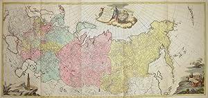 Bild des Verkäufers für Tabula Geographica Generalis Imperii Russici ad normam novis sinarum observationum astronomiearum concinnata. zum Verkauf von Antique Sommer& Sapunaru KG