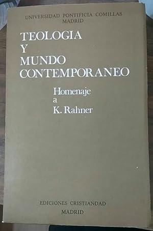 Teología y mundo contemporáneo: homenaje a K.: Vargas-Machuca Gutiérrez, Antonio