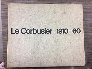 Boesiger/Girsberg. Le Corbusier 1910-60.