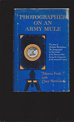 Photographer On An Army Mule (Signed)