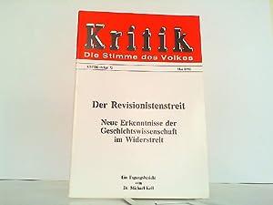 Der Revisionsstreit - Neue Erkenntnisse der Geschichtswissenschaft im Widerstreit. Ein ...