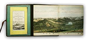 Panorama of Switzerland as viewed from the: KELLER, Henry (drawn