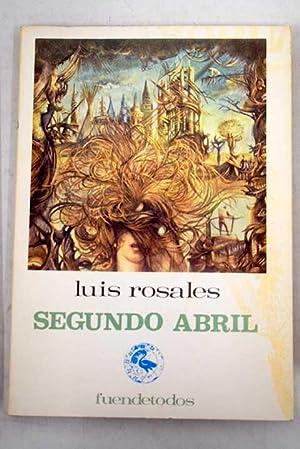 Imagen del vendedor de Segundo abril a la venta por Alcaná Libros