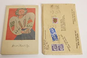 Matisse [In Envelope from Matisse]