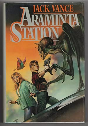 Araminta Station by Jack Vance First Edition (First Edition) Signed