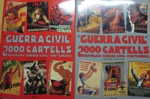 La guerra civil en 2000 cartells. Republica,: CARULLA, JORDI I