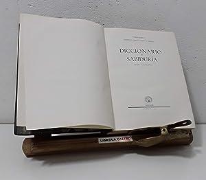 Diccionario de Sabiduría (Frases y conceptos): Tomás Borrás y