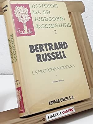 Historia de la filosofía occidental - 2.: Bertrand Russell
