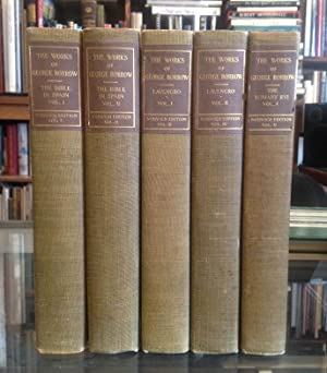 The Works of George Borrow, Volumes I-XVI (Norwich Edition): Borrow, George; Shorter, Clement (Ed.)