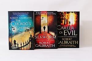 Cormoran trilogy: signed 1st/st Cuckoo's Calling, The: Robert Galbraith /