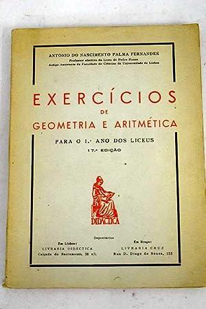 Exercícios de Geometría e Aritmética