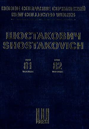 New collected works of Dmitri Shostakovich. Vol. 81-82: The Execution of Stepan Razin, cantata, f...