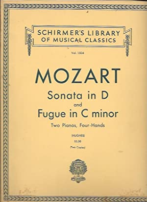 Sonata in D and Fugue in C: Mozart, Wolfgang Amadeus