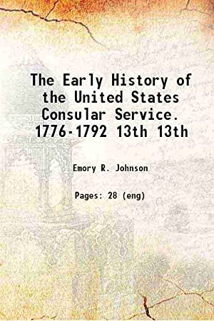 The Early History of the United States: Anonymous