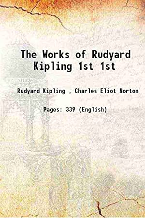 """The Works of Rudyard Kipling """"Captains Courageous"""": Anonymous"""
