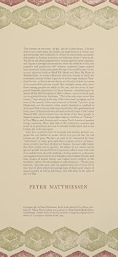 excerpt from In the Spirit of Crazy: MATTHIESSEN, Peter