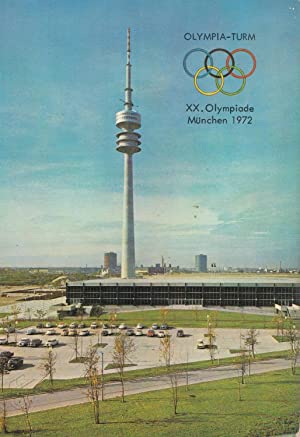 POSTAL B4895: OLIMPIADAS DE MUNIC 1972: Varios