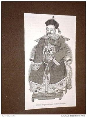 Immagine del venditore per Cina nel 1871 Officier du premier rang en habit de cour China venduto da LIBRERIA IL TEMPO CHE FU