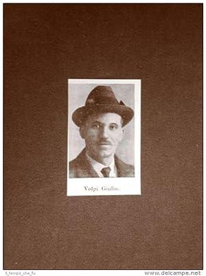 Elezioni Deputato del 1924 Onorevole Volpi Giulio