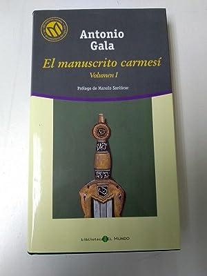 El Manuscrito carmesi. I: Antonio Gala