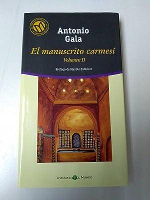El Manuscrito carmesi. II: Antonio Gala