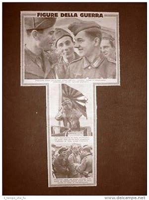 Immagine del venditore per Scene della Seconda guerra mondiale 1943 Asse Giappone Prigionieri Russia WW2 venduto da LIBRERIA IL TEMPO CHE FU