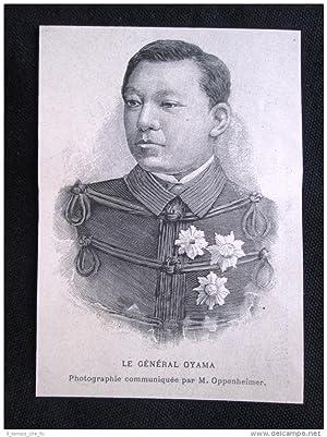 Immagine del venditore per Il generale Oyama, Armata del Giappone Incisione del 1894 venduto da LIBRERIA IL TEMPO CHE FU