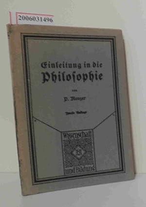 Bild des Verkäufers für Einleitung in die Philosophie Wissenschaft und Bildung 119 zum Verkauf von ralfs-buecherkiste