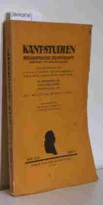 Bild des Verkäufers für Kant-Studien Philosophische Zeitschrift Band XXXI Heft 4 zum Verkauf von ralfs-buecherkiste