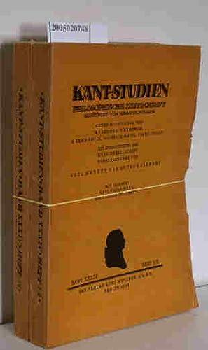 Bild des Verkäufers für Kant-Studien Philosophische Zeitschrift Band XXXIV Heft 1-4 Paul Menzer zum Verkauf von ralfs-buecherkiste